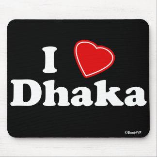 I Love Dhaka Mouse Pads