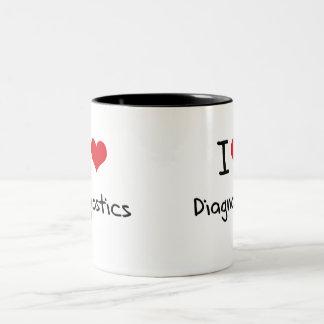 I Love Diagnostics Mug