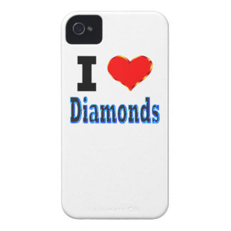 I Love Diamonds iPhone 4 Case