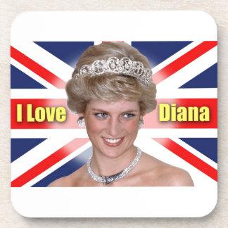 'I Love Diana' HRH Princess Diana Coaster