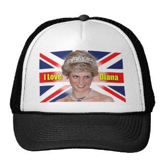 'I Love Diana' HRH Princess Diana Cap