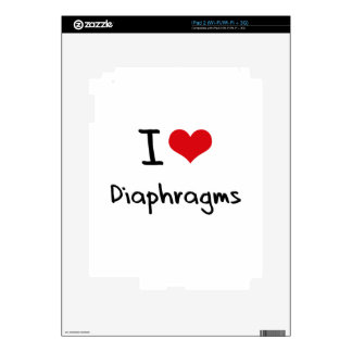 I Love Diaphragms Skins For iPad 2