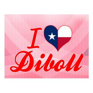 I Love Diboll, Texas Postcard