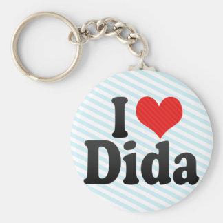 I Love Dida Keychain