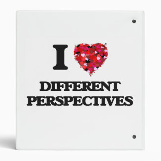 I love Different Perspectives 3 Ring Binders