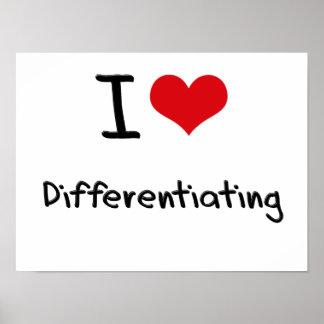 I Love Differentiating Print