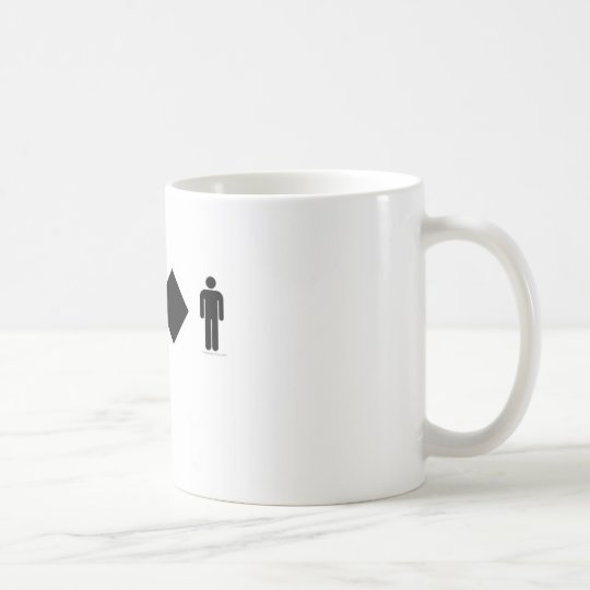 I love difficult men coffee mug