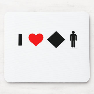 I love difficult men mouse pad