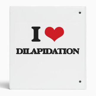 I love Dilapidation Binders