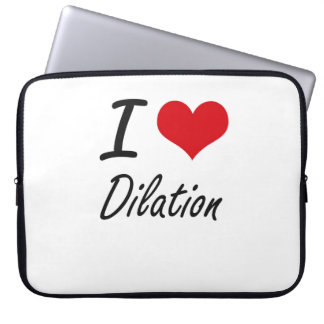 I love Dilation Computer Sleeve