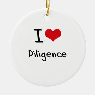 I Love Diligence Christmas Ornament