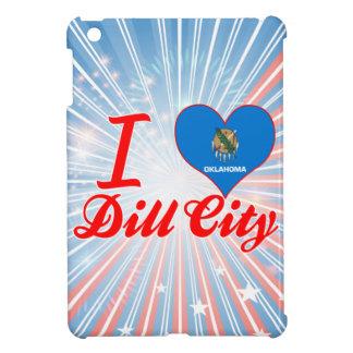 I Love Dill City, Oklahoma iPad Mini Cases