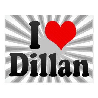 I love Dillan Postcard