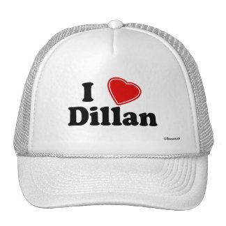 I Love Dillan Trucker Hat