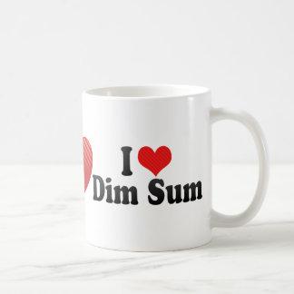 I Love Dim Sum Coffee Mugs