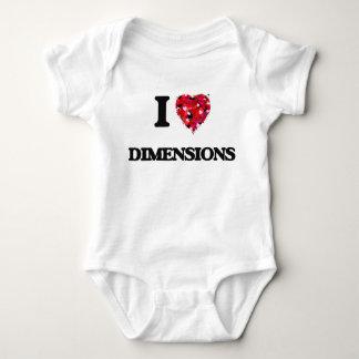 I love Dimensions T Shirt