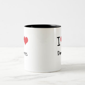 I Love Dimes Two-Tone Coffee Mug