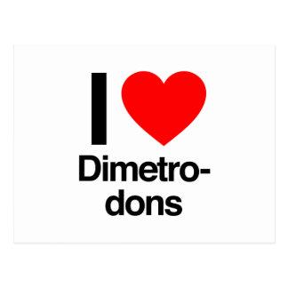 i love dimetrodons postcard