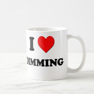 I Love Dimming Coffee Mugs