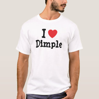 I love Dimple heart T-Shirt
