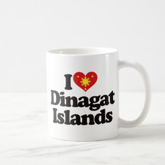 I Love Dinagat Islands Coffee Mug