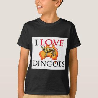 I Love Dingoes T-Shirt