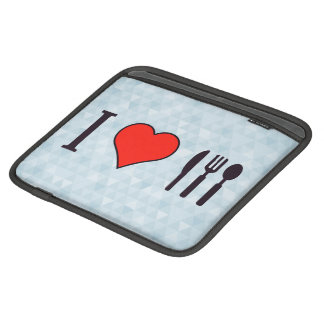 I Love Dining Out iPad Sleeve