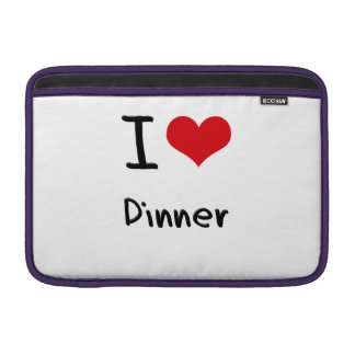 I Love Dinner MacBook Air Sleeve