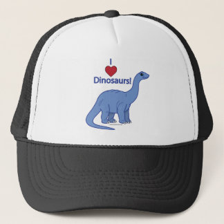 I Love Dinosaurs: Apatosaurus Trucker Hat