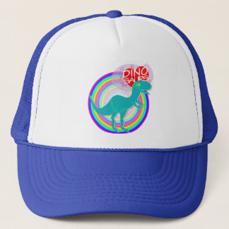 I love Dinosaurs Blue Dinosaur T-Rex Hat/ Cap