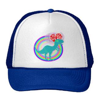 I love Dinosaurs Blue Dinosaur T-Rex Hat/ Cap Trucker Hat