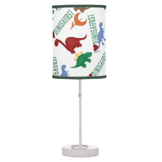 I Love Dinosaurs Colorful Children Lamp