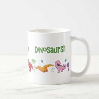 I Love Dinosaurs! (Cute) Coffee Mug