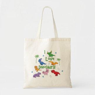 I Love Dinosaurs! (Cute) Tote Bag