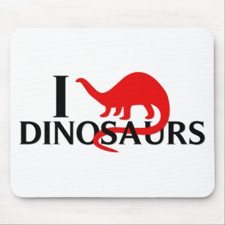 I Love Dinosaurs Mousepad
