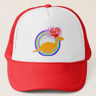 I love Dinosaurs Orange Dino Diplodocus Hat/ Cap