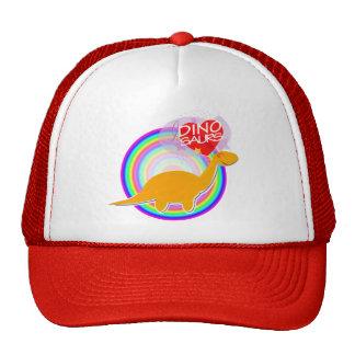 I love Dinosaurs Orange Dino Diplodocus Hat/ Cap Trucker Hat