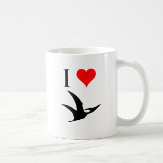 I Love Dinosaurs - Pterodactyl Classic White Coffee Mug