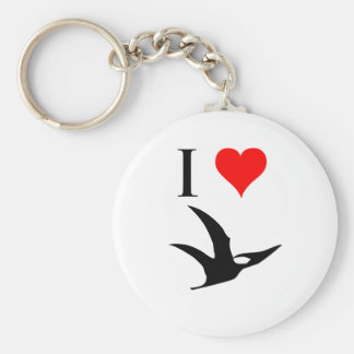 I Love Dinosaurs - Pterodactyl Key Chains