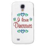 I Love Dinosaurs Samsung Galaxy S4 Cases