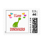 I Love Dinosaurs Stamp
