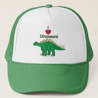 I Love Dinosaurs: Stegosaurus Trucker Hat