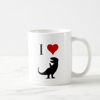 I Love Dinosaurs - T-Rex Classic White Coffee Mug