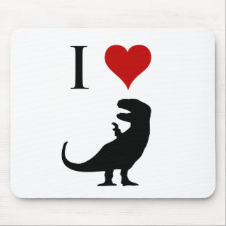 I Love Dinosaurs - T-Rex Mouse Pad