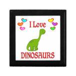 I Love Dinosaurs Trinket Box