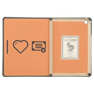 I Love Diploma Certifies iPad Air Case