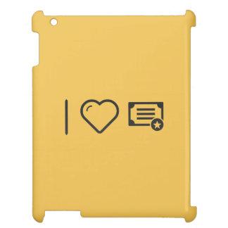 I Love Diploma Certifies iPad Case