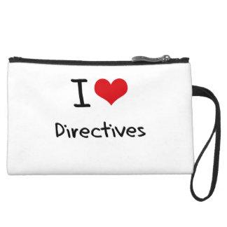 I Love Directives Wristlet