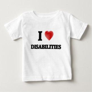 I love Disabilities Baby T-Shirt