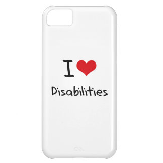 I Love Disabilities Case For iPhone 5C